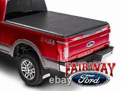 17 À 20 Super Duty Oem Genuine Ford Soft Roll-up Tonneau Bed Cover 6-3/4