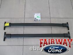 18 À 20 Expedition Oem Genuine Ford Roof Rack Cross Bar Set 2-pc Avec Matériel