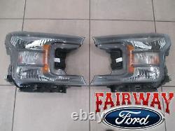 18 À 20 F-150 Oem D'origine Ford Black Edition Spéciale XL Xlt Paire Phares