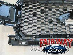 18 À 20 F-150 Oem D'origine Ford Oxford White & Black Grille Grill Nouveau