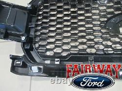 18 À 20 F-150 Oem D'origine Ford Um Agate & Black Honeycomb Grille Grill