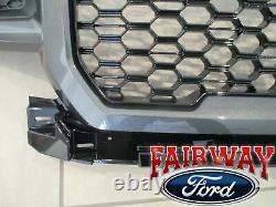 18 À Travers 20 F-150 Oem Genuine Ford Color Code J7 Magnetic & Black Grille Grill