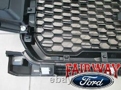 18 À Travers 20 F-150 Oem Genuine Ford Me Abyss Gray & Black Grille Grill Nouveau