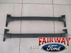 18 Thu 20 Ecosport Oem Véritable Ford Black Roof Rack Cross Bar Set 2 Pièces