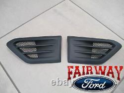 19 À 20 Ranger Oem Genuine Ford Satin Black Fender Trim Vent Set Of 2
