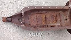 1912 1913 Modèle T Ford Tea Cup Engine Pan Nez Pointé D'origine