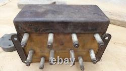 1915 1916 Modèle T Ford Cuil Box Avec Switch / LID Haut D'une Pièce D'origine