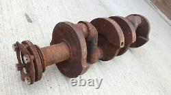 1932 1933 1934 Ford 4 Cylindres Contre-équilibré Manivelle Arbre Original Model B C