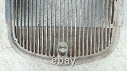 1934 Ford Truck Grille Shell Original Pickup Panel Tige Personnalisée 1933