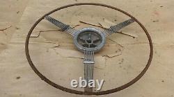 1935 1936 Ford Banjo Steering Wheel Accessoire De Luxe D'origine