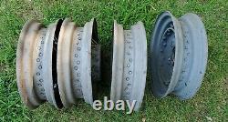 1935 Ford 16 Kelsey Hayes Wire Bent Wheels Flathead 1932 Hot Rod Rat Trog