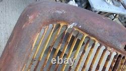 1936 Ford Truck Grille Shell Original Pickup Panel Tige Personnalisée