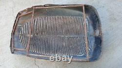 1937 Ford Truck Grille Shell Panneau De Ramassage Original