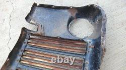 1942 1946 1947 Ford Truck Grille Avec Panneau De Ramassage Bars Original Jail Bar