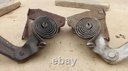 1949 1950 1951 Mercury Trunk LID Hinges Paire Originale