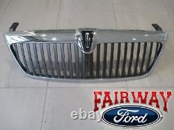 2003 & 2004 Lincoln Navigator Oem Genuine Ford Chrome Grill Grille Withemblem Nouveau