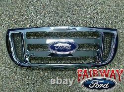 2006 Thru 2011 Ranger Oem Véritable Ford De Ford Chrome Grille Grillade Nouveau