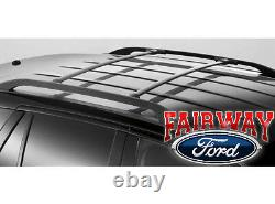 2007 À 2014 Edge Mkx Oem Genuine Ford Black Roof Rack Side Rail Set