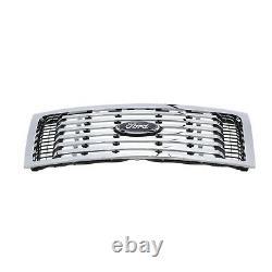 2009-2014 Ford F-150 Xlt Chrome 6 Bar Radiateur Avant Grille Oem Nouveau Véritable