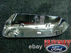 2009 À 2014 F-150 F150 Oem Genuine Ford Parts Chrome Mirror Cover Kit 2-pc