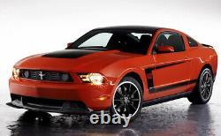 2010-2012 Mustang Gt Boss 302 Véritable Ford Grille Supérieure Avec Emblème De Poney