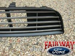 2013 Thru 2014 Mustang Oem Genuine Ford Billet Dark Lower Grille Grill Avec Emblem