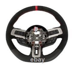 2018-2020 Shelby Gt350r Véritable Volant Ford Avec Pointage Rouge Et Ligne De Vue