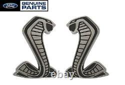 2020 Shelby Gt500 Authentique Ford Oem 3.5 Snake Fender Side Emblems Badges Lh Rh