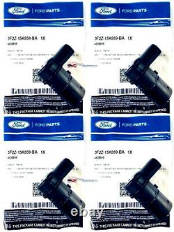 (4) Oem Ford Reverse Backup Parking Assist Capteur Arrière Ford 01-2014 3f2z15k859ba