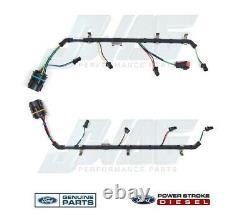 6.4l Moteur Diesel Oem Véritable Ford Injecteur De Carburant Harnais De Câblage F250 F350