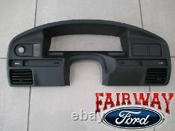 94 À 96 Bronco Oem Genuine Ford Instrument Cluster Dash Finish Panel Lunette