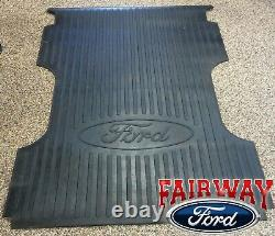 99 16 F-250 F-350 Super Duty Oem Genuine Ford Heavy Duty Rubber Bed Mat 8 Pieds