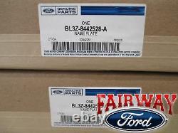 F-150 F250 F350 Oem Véritable Ford Harley Davidson Davidson Decal Pair Paire De 2