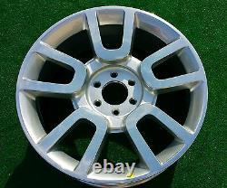 Factory Ford Harley-davidson Wheel 1 Nouveau 2010 2011 Véritable Oem F150 22 Pouces 3830