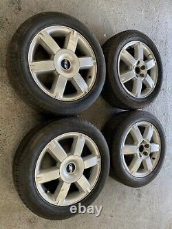 Genuine Oem Ford Focus 16 5x108 Roues Alloyées + Tyres