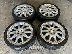 Genuine Oem Ford Mondeo 18 5x108 Split Rim Alloy Whoels + Tyres Connect Focus