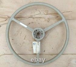 Nos 1940's 1950's Blue Bird Steering Wheel Original 20 3 Spoke
