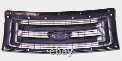 Nouveau Ford Oem 2009-2014 F150 XL Noir Modèle Grille Avec Ford Emblem Dl3z8200ca