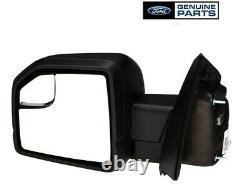 Nouveau Véritable Ford 2015-2019 F150 Power Adjustable Driver Mirror Assy Fl3z17683bb