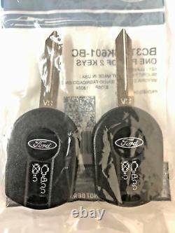 Oem Véritable Ford 2011-2016 F250 F350 F450 F550 Sd Remote Starter Kit-2 Keys Rpo