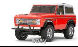 Tamiya Véritable Oem Ford Bronco 4wd Usine Fini Corps Peint 1/10 Rc Voiture