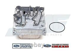 Véritable Ford Oem 6.4l Powerstroke Diesel Engine Oil Cooler F250 F350 F450 F550
