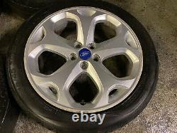 Véritable Oem Ford Mondeo Titanium 18 5x108 Alloy Wheels Connect Focus Volvo